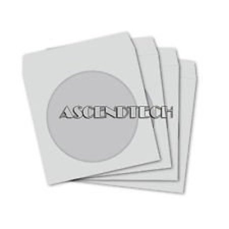 LOT OF 20 PAPER CD DVD FLAP SLEEVES CASE COVER ENVELOPES WITH CLEAR WINDOW ()
