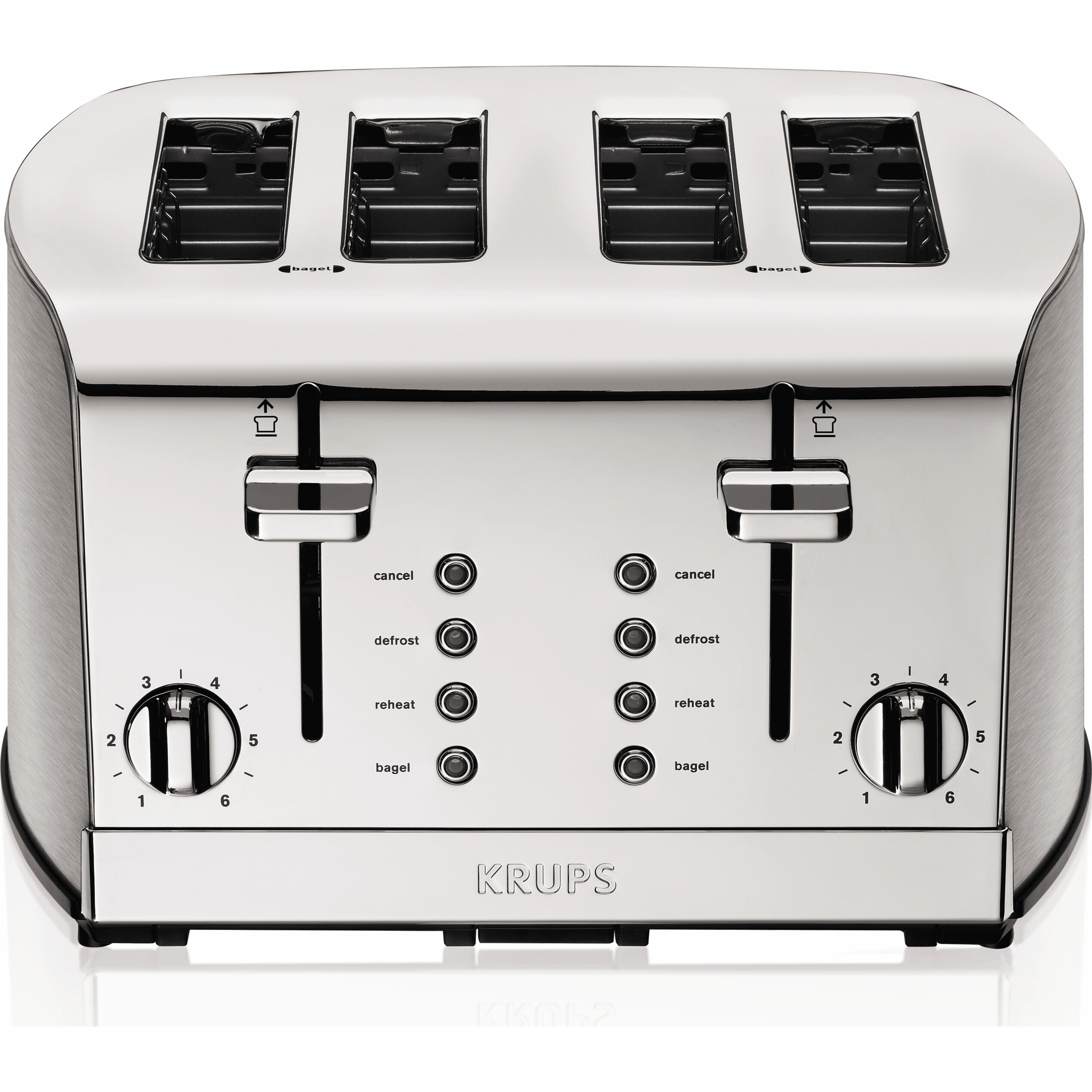 description bread slice slot toaster bun bagel pin decker four waffle extra black wide