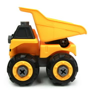 Wistoyz Loader Toy, Take Apart STEM Fun, Ages 3 4 5 & 6 year, Construction Truck Engineering Vehicle, Building Play Toys for Boys Girls Toddlers