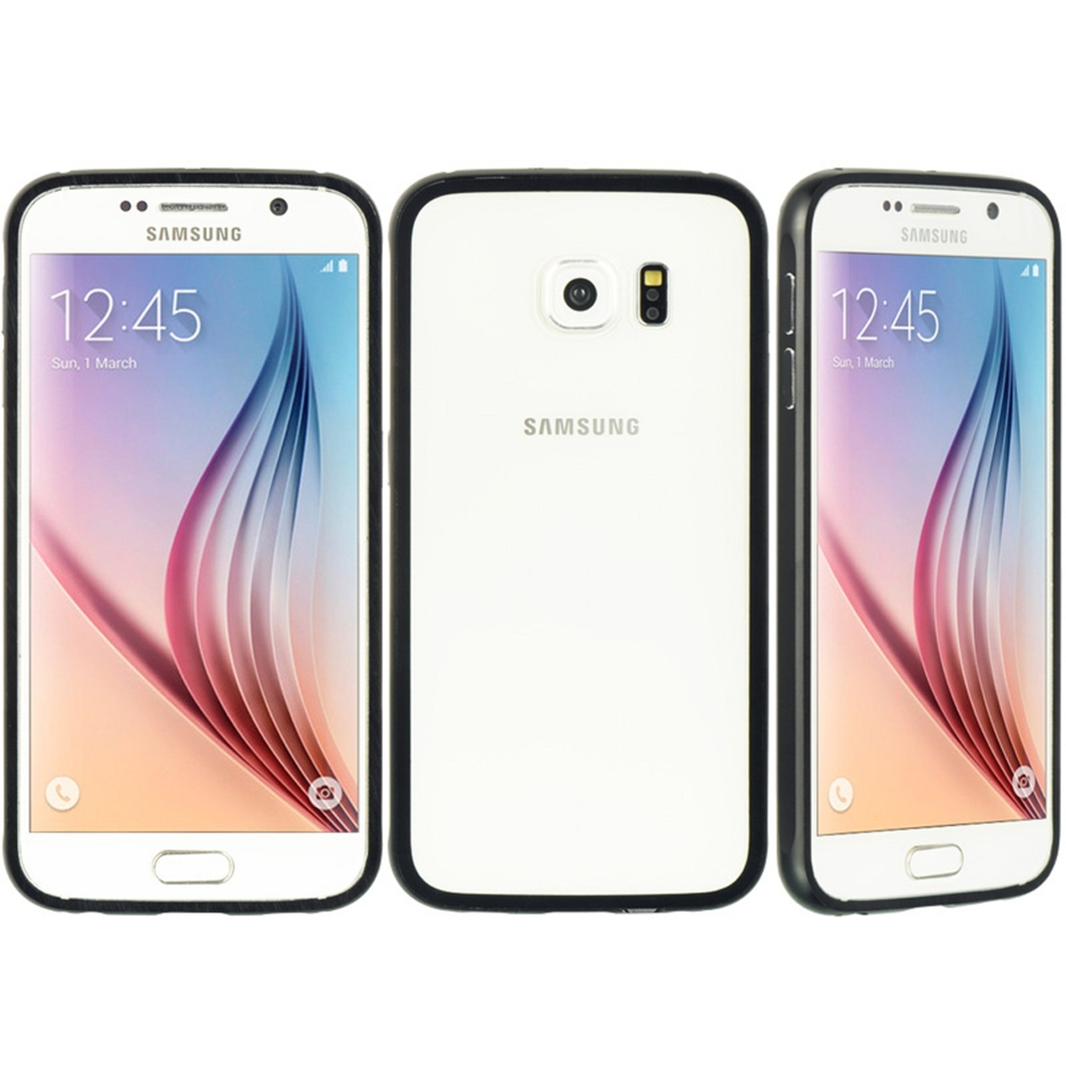 Samsung Galaxy S6 Case, by Insten Aluminum Hard Clip On Back Cover Skin Case For Samsung Galaxy S6