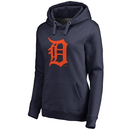 quality design a5a4b 4bc15 Detroit Tigers Women's Team Color Primary Logo Pullover Hoodie - Navy