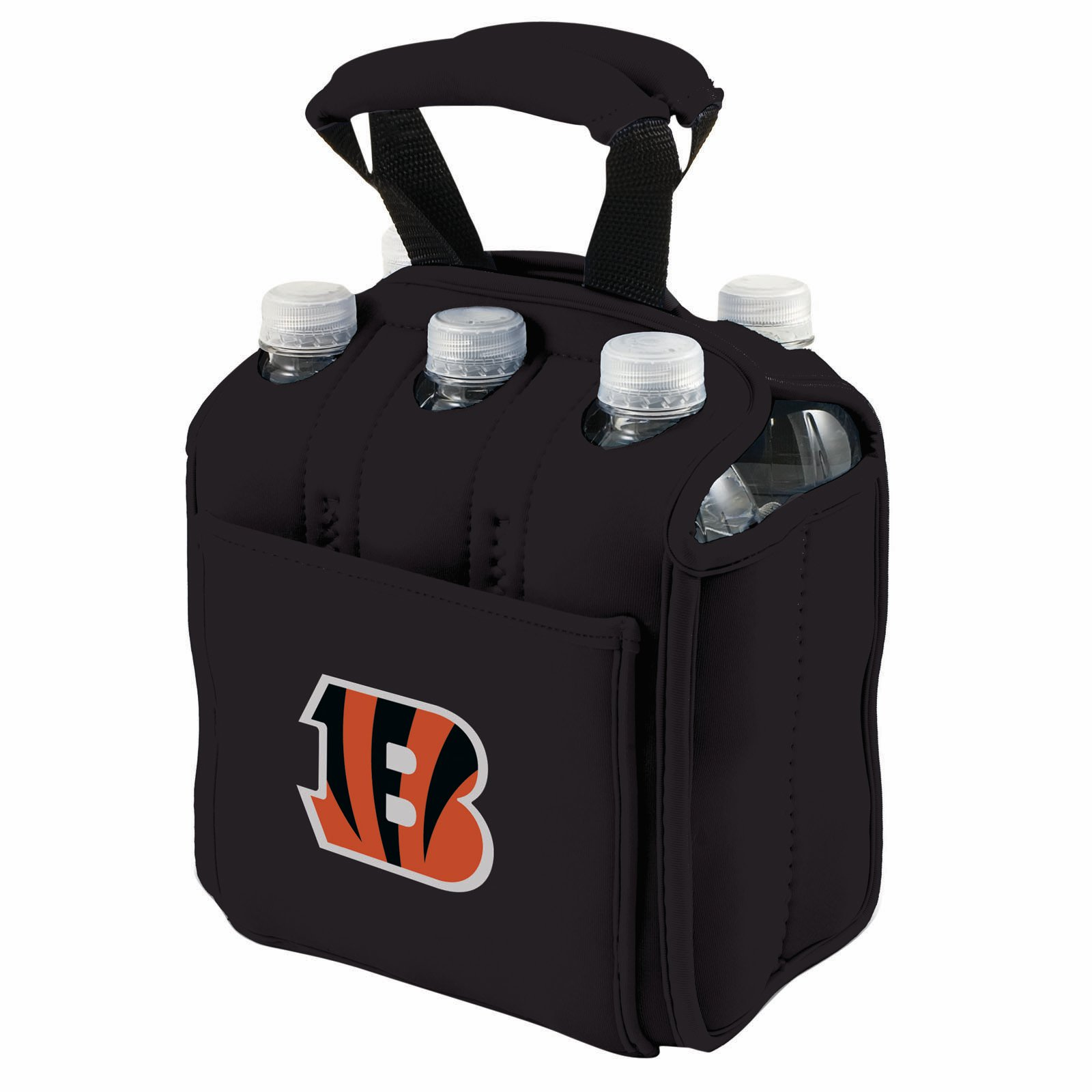 Picnic Time Six Pack, Blk Cincinnati Bengals Digital Print