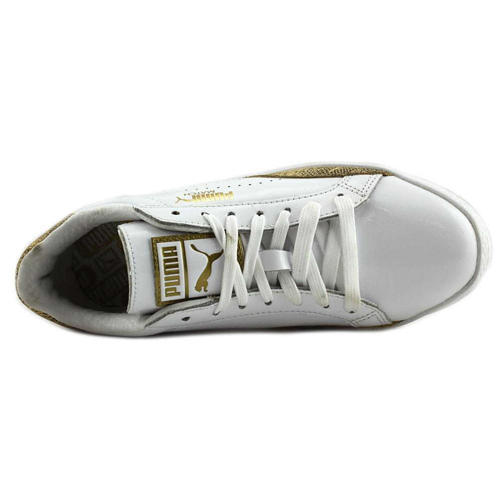 Puma Match Lo Women Round Toe Sneakers Shoes