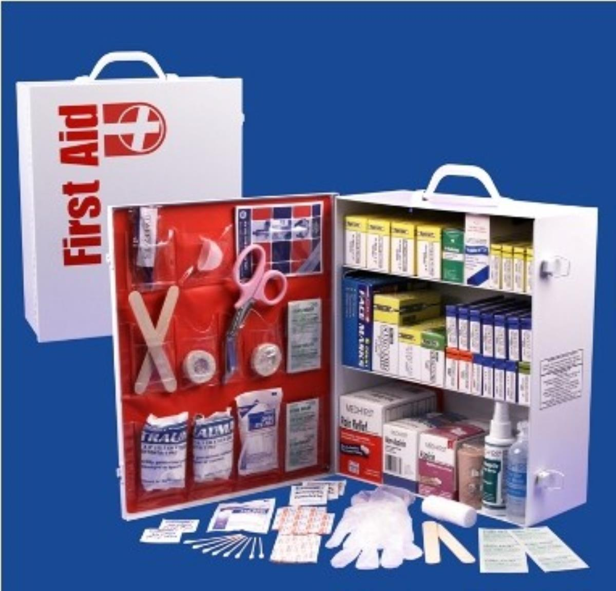 Guardian FAC3 3 Shelf First Aid Cabinet