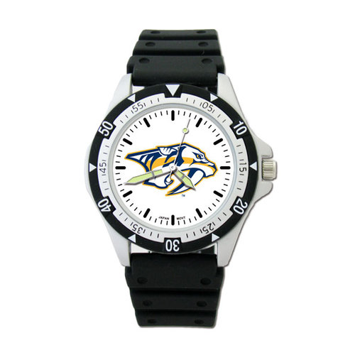 NHL - Nashville Predators Option Watch with Rubber Strap