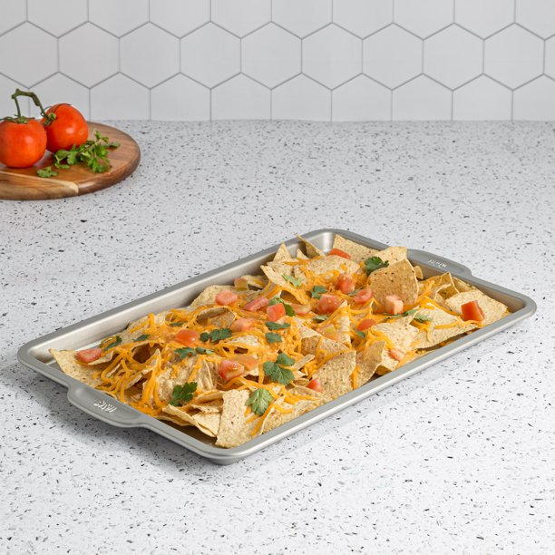 "Tasty Large Non-Stick Cookie Sheet Baking Pan, 17""x11"""