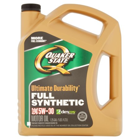 Quaker state ultimate durability 5w30 motor oil 5 qt for Quaker state conventional motor oil