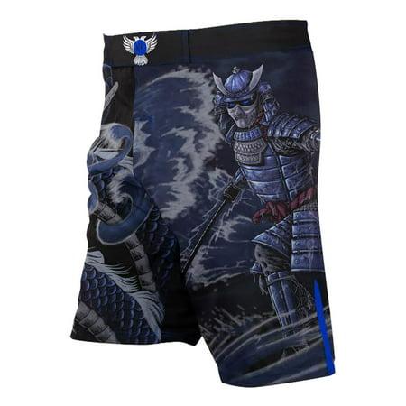 Raven Fightwear Men's Water Element MMA Fight Shorts ()