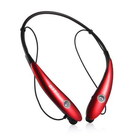 Wireless Headphones Around Neck