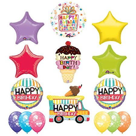 Ultimate Ice Cream Cone Sprinkles Birthday Party Supplies Decoration - Ice Cream Cone Decorations