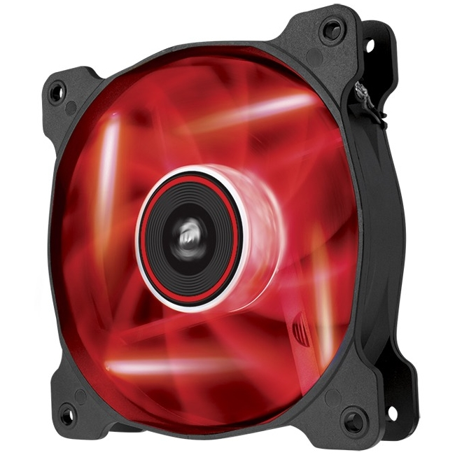Corsair Air Series SP 120 LED Red High Static Pressure Fan Cooling - single pack - CO-9050019-WW