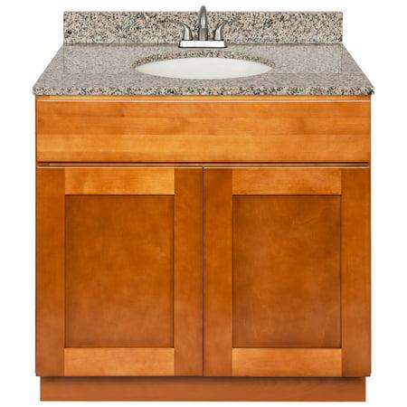 Brown Bathroom Vanity 36