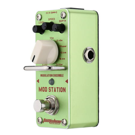 AROMA AMS-3 Mod Station Modulation Ensemble Electric Guitar Effect Pedal Mini Single Effect with True Bypass - image 1 of 1