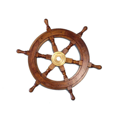 Handcrafted Nautical Decor Deluxe Class Ship Wheel Wall D cor