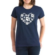 Womens Heart for Paws T-Shirt