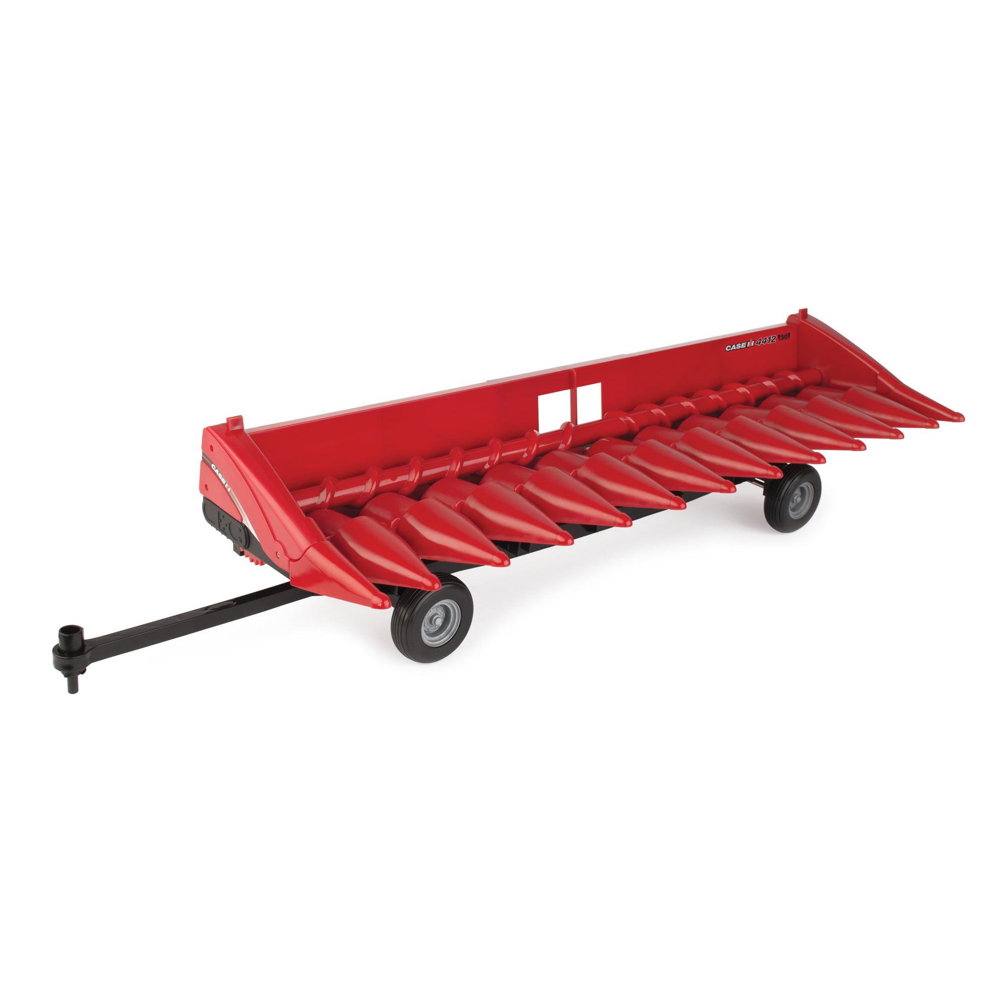 Big Farm M4 1:16 Case IH 4412 Corn Head and Header Cart by TOMY
