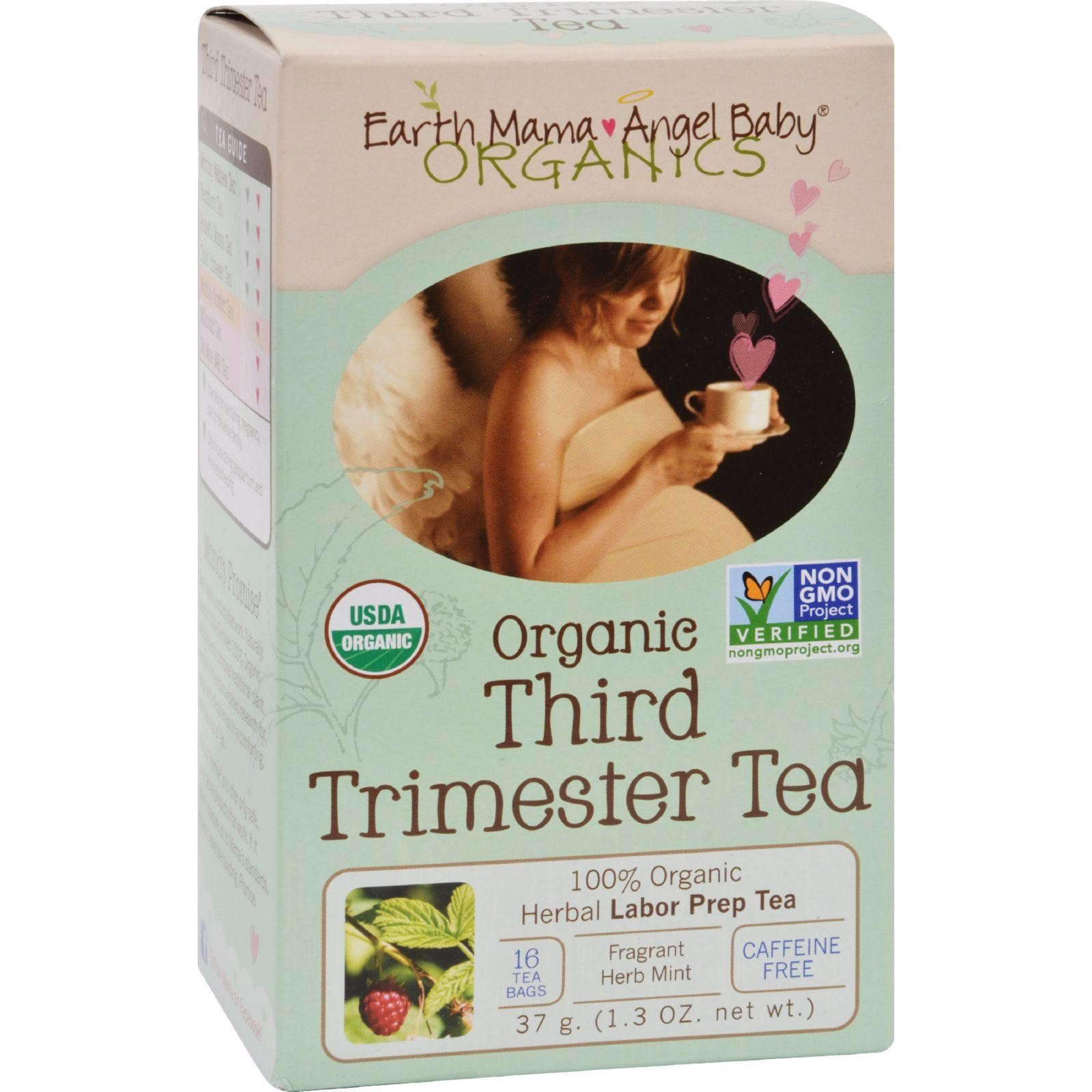 Earth Mama Angel Baby Third Trimester Tea - 16 Tea Bags