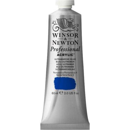 Winsor & Newton Artists' Acrylic Color, 60ml Tube, Ultramarine Blue