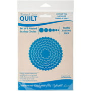 Tattered Lace Quilt Die Cut-Scallop Circles Set Of 6