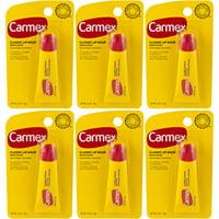 6 Pack - Carmex Moisturizing Lip Balm - .35oz Each