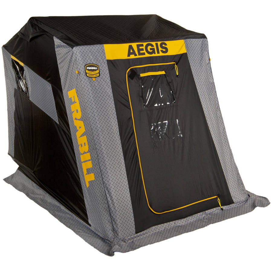 Frabill Aegis 2410 Top Insulated Flip-Over Shelter Bench 640440