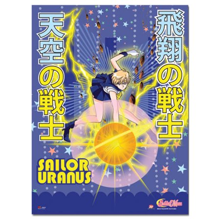 Fabric Poster - Sailor Moon S - New Uranus Wall Scroll Art Licensed ge77722