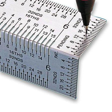 Incra Bndrul12 12-Inch Incra Precision Bend Rule (Incra Tools)