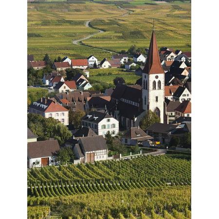Ammerschwihr, Alsatian Wine Route, Alsace Region, Haut-Rhin, France Print Wall Art By Walter