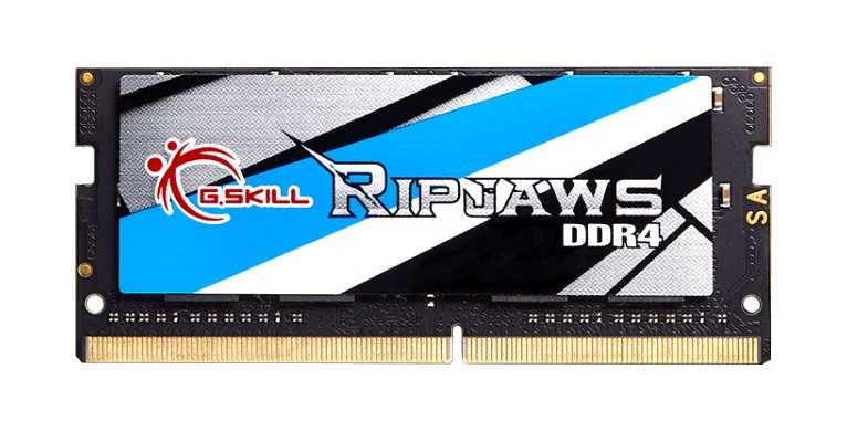 4GB G.Skill 2400MHz DDR4 SO-DIMM Laptop Memory Module (CL16) 1.20V PC4-19200 Ripjaws DDR4 Series