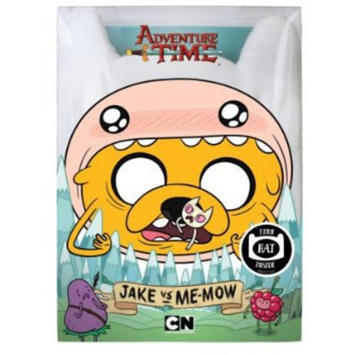 Adventure Time: Jake Vs. Me-Mow (With Finn Hat)