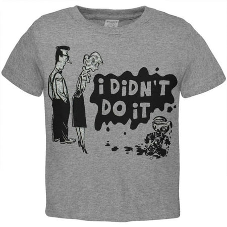 Dennis The Menace - I Didn't Do It Toddler T-Shirt (Dennis School Uniforms)