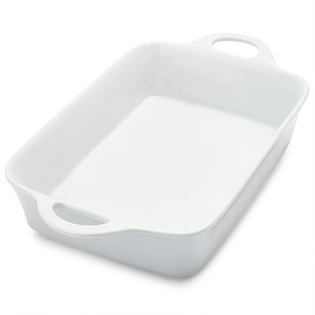 Rectangular Porcelain Baker Un30 206   4 Qt   Rectangular Porcelain Baker  4 Qt  By Sur La Table