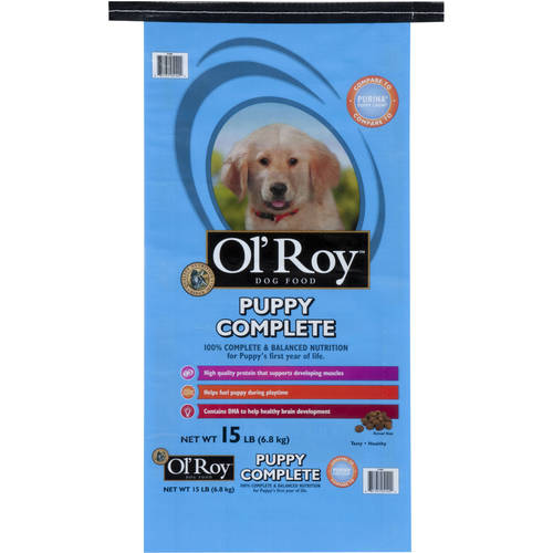 Ol' Roy Puppy Dry Dog Food 15-Pound Bag