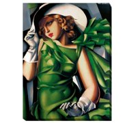 Artistic Home Gallery 'Young Girl' by Tamara De Lempicka Graphic Art on Wrapped Canvas