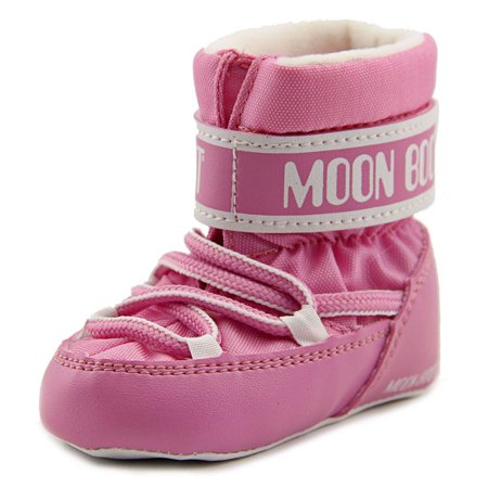 tecnica moon boot crib round toe canvas winter boot. Black Bedroom Furniture Sets. Home Design Ideas