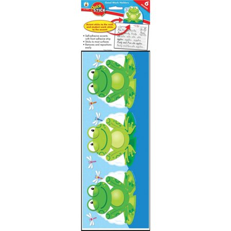 Carson-Dellosa, CDP119008, Frog Good Work Holder, 1 Pack, Multicolor Bee Good Work Holder