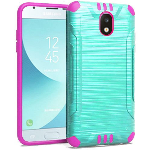 finest selection 846e9 60570 Phone Case For Samsung Galaxy J3 Orbit, J3 Top (Verizon) J3V 3rd Gen,  Galaxy J3 Star, Amp Prime 3, J3 Achieve, Express Prime 3, J3 (2018)  Dual-Layered ...