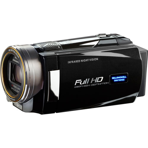BELL+HOWELL Black DNV16HDZ 1080p Full HD Night Vision Camcorder