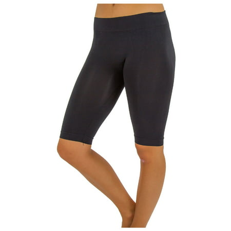 TD Collections Women's Relaxed Stretch Bermuda Leggings