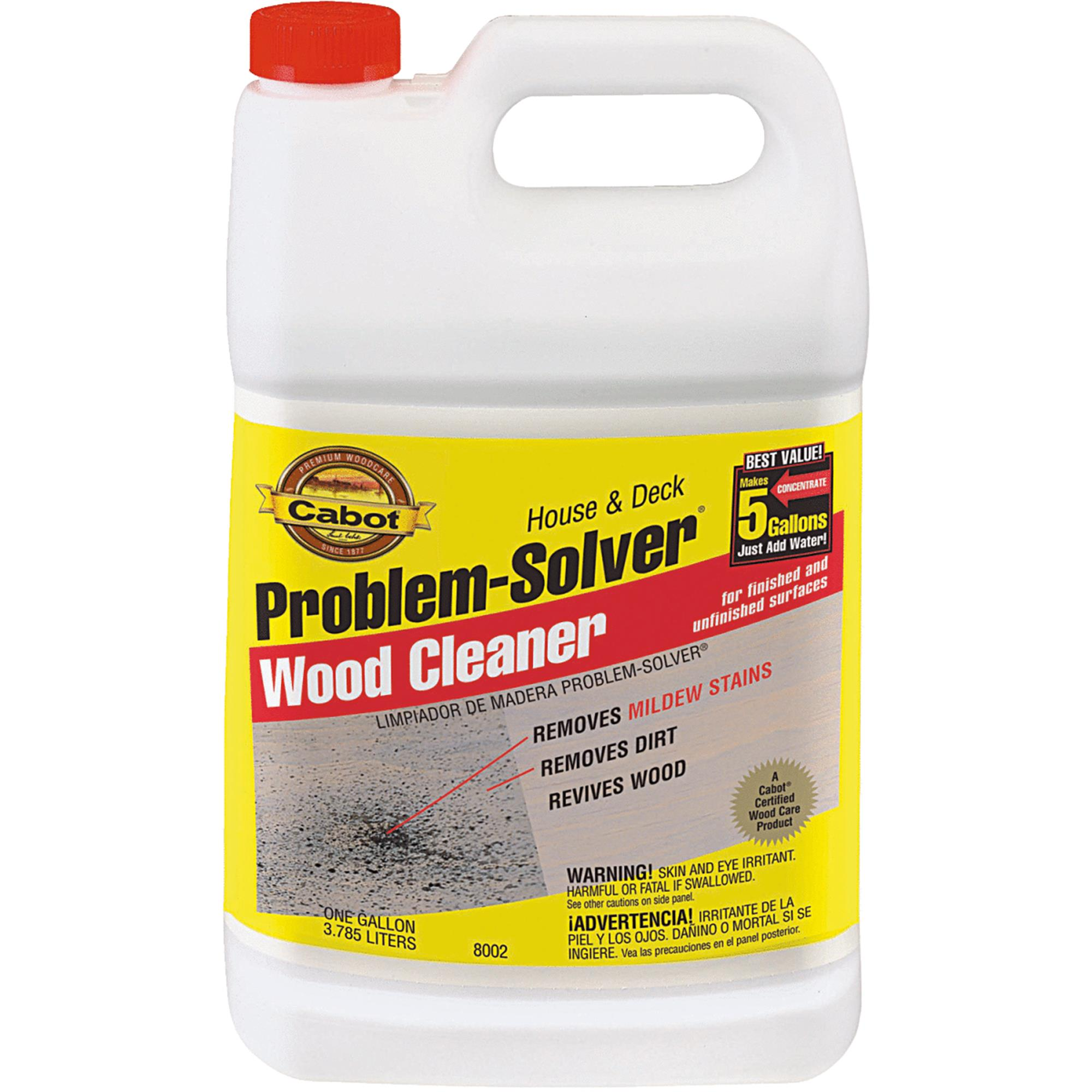 Cabot Problem-Solver House & Deck Wood Cleaner