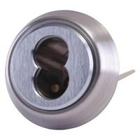 BEST 12E72-S2RP626 Lockset Cylinder, Satin Chrome, 6 Pins to 7 Pins