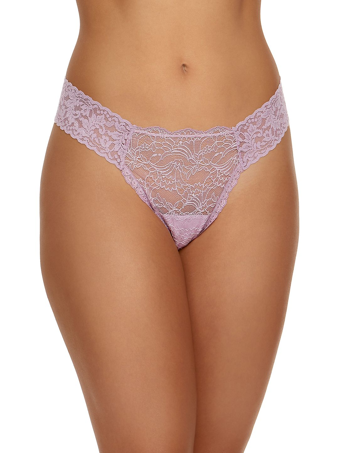 Marquise Lace Low-Rise Thong