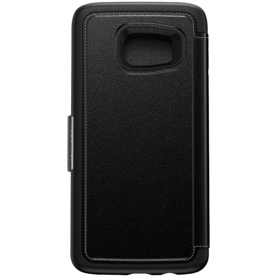 timeless design cc46f b7016 Galaxy S7 edge Otterbox strada series case, onyx black - Walmart.com