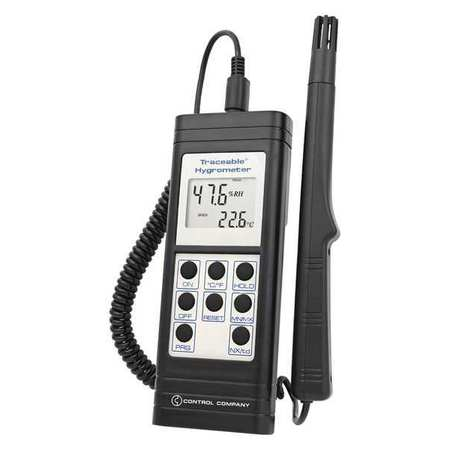 TRACEABLE 4185 Dew Point Meter,10 to 95% Rel Hum Rnge