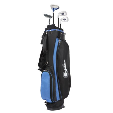 Confidence Junior V2 Golf Left Hand Club Set w/Stand Bag for kids Ages 4-7 Lefty Discount Left Handed Golf Clubs