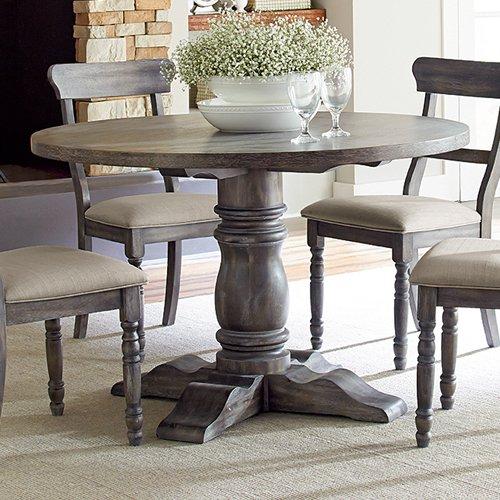 progressive furniture muses round dining table - walmart
