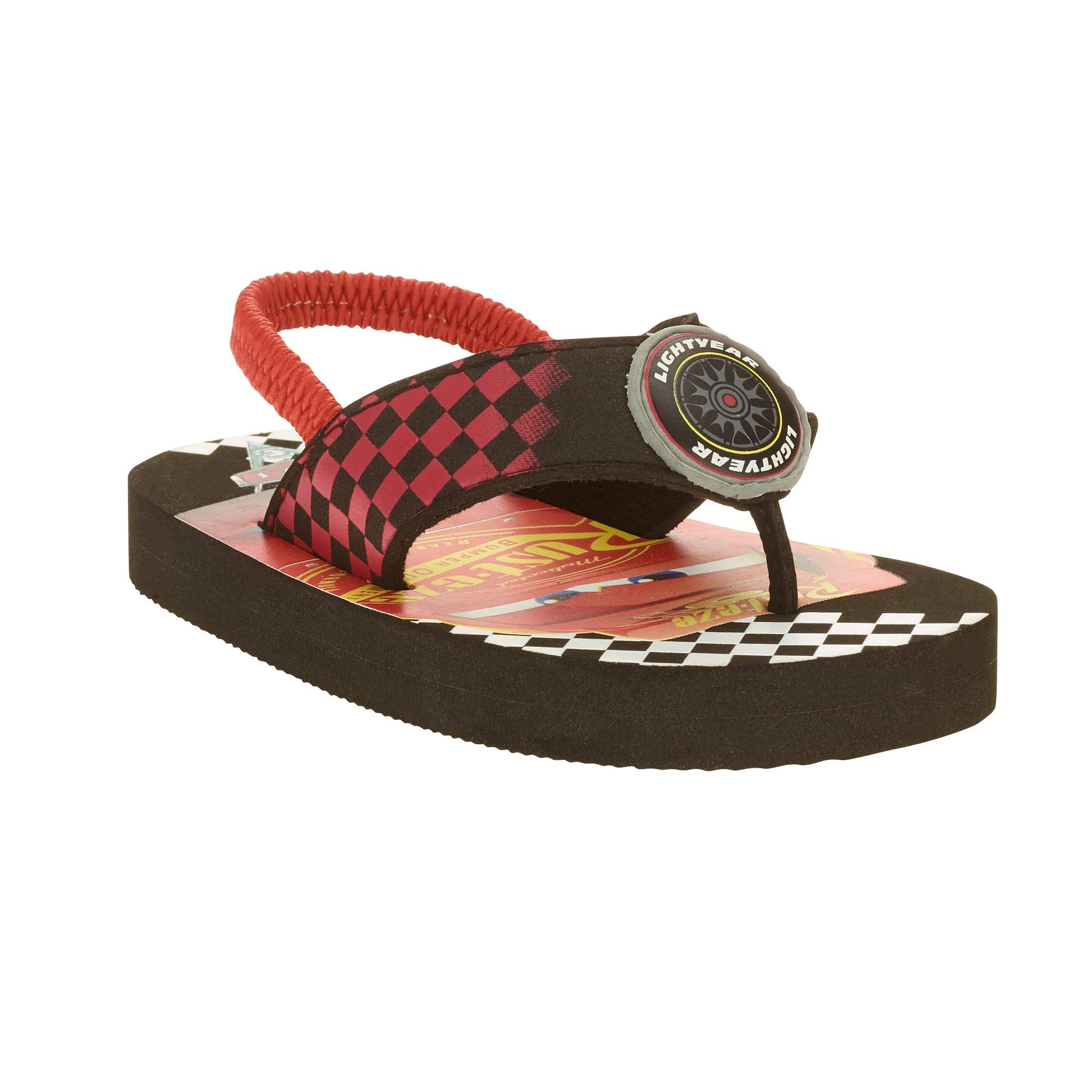 Image of Cars Toddler Boys' Beach Flip Flops