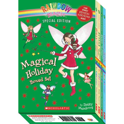 Magical Holiday Boxed Set: Gabriella the Snow Kingdome Fairy / Paige the Christmas Play Fairy / Holly the Chrtmas Fairy / Stella the Star Fairy
