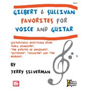 Gilbert and Sullivan Favorites for Voice and Guitar - eBook