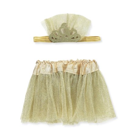 Rising Star Baby Girls' Headband & Tutu Set (Star Headband)